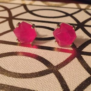 Kendra Scott Pink Stud Earrings